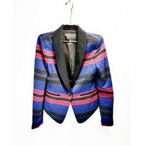 BCBGMAXAZRIA • striped blazer